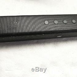 JBL 300W 2.1-Channel Soundbar with Wireless Subwoofer JBLBAR21BLKAM (No Remote)