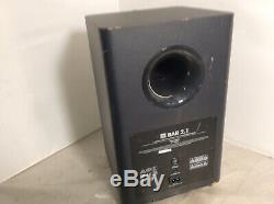 JBL Bar 2.1 Soundbar with Wireless Subwoofer 300W with Remote Control