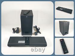 JVC TH-WL315B Bluetooth Wireless Soundbar Subwoofer 2.2 Speaker System + Remote