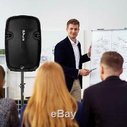 Karaoke Portable Speaker System Wireless Bluetooth Outdoor Microphone Remote
