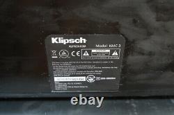 Klipsch KMC 3 WIRELESS Center KMC3 Bluetooth AptX Portable Speaker with Remote