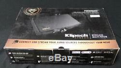Klipsch PowerGate Wireless amplifier with DTS Play-Fi and Bluetooth