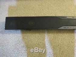 Klipsch R-20B Bluetooth Soundbar with 10 inch Wireless Subwoofer box remote 10
