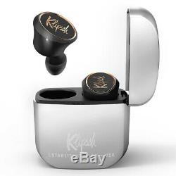 Klipsch T5 True Wireless Earbuds with Built-In Remote and Microphone (Black)