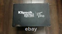 Klipsch The Three Wireless Multiroom Bluetooth Stereo Speaker & Remote. NEW