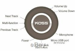 Koss BT540i Headphones Wireless Bluetooth with Remote Control and Microphone