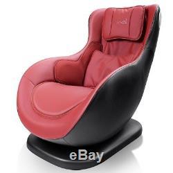 Leisure Curved Heated Massage Chair Wireless Bluetooth Speaker Remote Control US