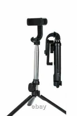 Lot of 100 Selfie Stick Tripod For iPhone Samsung Wireless Bluetooth Remote