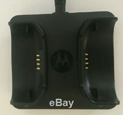 MOTOROLA PMMN4096A WIRELESS Remote Speaker Microphone w Dual Charger Blue Tooth