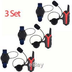Motorbike Headset Bluetooth Intercom Walkie Talkie Radio+Earphone+Remote Control