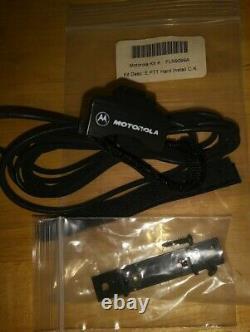 Motorola Earpiece Bluetooth Wireless Remote Speaker Mic Kit # FLN9299A Military