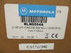 Motorola RLN6554A Bluetooth Wireless Remote Speaker Mic KIT Brand New in box
