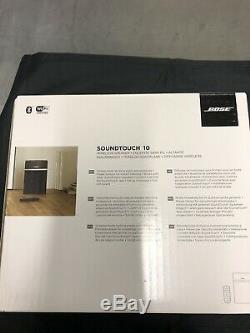 NEW BOSE SoundTouch 10 Wireless Speaker with remote. OPEN BOX. WITH ALEXA