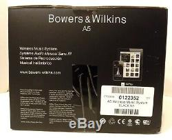 NEW Bowers & Wilkins A5 Wireless Music System with AirPlay Remote B&W