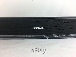 NOS Bose Solo 15 TV Sound System Speaker Black with Remote & Power Cable #570