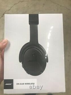 New Bose 714675-0030 On-Ear Wireless Bluetooth Headphones W Mic Remote -Black