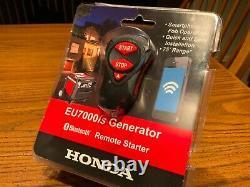 New Honda Eu7000is Generator Bluetooth Wireless Phone Remote Start Starter 75ft