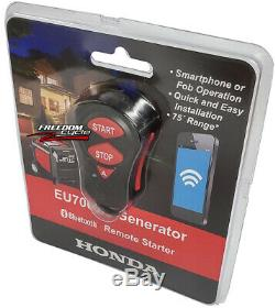 New Honda Eu7000is Generator Bluetooth Wireless Remote Stater Up To 75ft