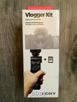 New SONY GP-VPT2BT Shooting Grip With Bluetooth Wireless Remote VLOGGER KIT 1