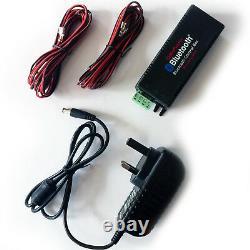 Outdoor Bluetooth Black Speaker Kit Karaoke/Stereo Mini Amp Garden BBQ Parties