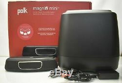 Polk Audio MagniFi Mini Home Theater Sound Bar System with Bluetooth(NO REMOTE)