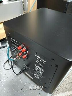 Polk DSW PRO 440wi Powered Subwoofer With Remote Wireless Ready 180w