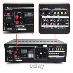 Pyle 1000 Watt Bluetooth Wireless Stereo Mixer Karaoke Amp Amplifier Remote New