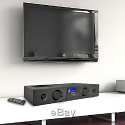 Pyle 300 Watt Bluetooth USB/SD/FM Radio Soundbar System with Remote (4 Pack)