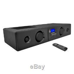 Pyle 300 Watt Bluetooth USB/SD/FM Radio Soundbar System with Remote PSBV200BT