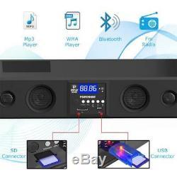Pyle PSBV200BT 300W Bluetooth Soundbar Speaker USB/SD AUX FM Radio & Remote
