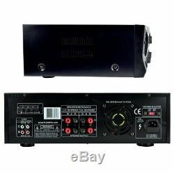 Pyle PT272AUBT Wireless Bluetooth Audio Power Amplifier 300W 4 Channel Receiver