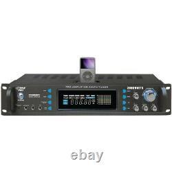 Pyle Pro 2000W Receiver with Bluetooth & wireless remote