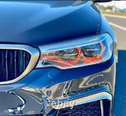 RGBW LED Angel Eye Halo DRL 4 BMW 2017-19 F36 4 Series GT LED HID Bluetooth