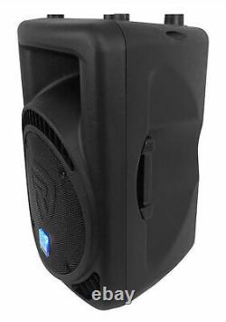 Rockville RPG12BT V2 12 Powered 800W DJ PA Speaker BlueTooth/Wireless/Remote/EQ