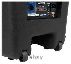 Rockville RPG15BT V2 15 Powered 1000W DJ PA Speaker BlueTooth/Wireless/Remote
