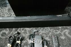 Samsung HW-K550 3.1 Channel 340W Soundbar With Wireless Subwoofer remote