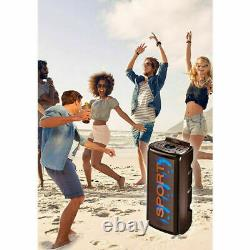 Sansai Bluetooth LED Wireless Party Speaker Full Function Remote Control 5.0