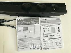 Sharp HT-SB602 2.1 Channel 310W Bluetooth Sound Bar/ Wireless Subwoofer/ Remote