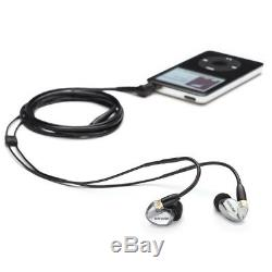 Shure SE425 Sound-Isolating InEar Headphones RMCE-BT1 with Bluetooth Remote + Mic