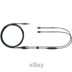 Shure SE846 Sound Isolating Earphones with Bluetooth, Remote Mic Cables, Black