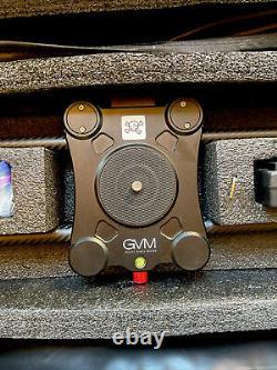 Slider GVM 2D 2-Axis Wireless Carbon Fiber Motorized Slider + Bluetooth Remote