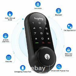 Smart Lock, Touchscreen Deadbolt Remote Wireless Control & Bluetooth Bronze