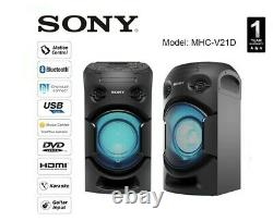 Sony MHC-V21 Wireless Bluetooth Party Chain Speaker NEW with Original Remote 2020