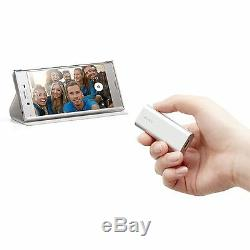 Sony SBH56 Bluetooth NFC One Touch Headset with Speaker Talk Camera Remote Silver