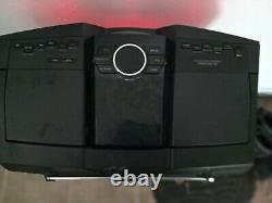 Sony ZS-BTG900 Bluetooth Wireless AM/FM Portable Radio Boombox With Remote