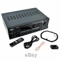 Sound Around Wireless Bluetooth Audio Power Amplifier 300W 4 Channel Home