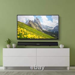 Sound Bar, 100Watt Bestisan Soundbar for TV, Wired Wireless Bluetooth 5.0 Soun
