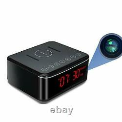 Spy Camera-Remote WIFI Hidden Camera/Wireless Charge/Bluetooth Speaker/Alarm
