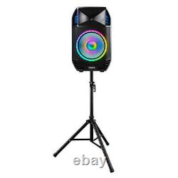 Total PA Premier All-in-One Bluetooth Speaker, Include Stand & Wireless Remote