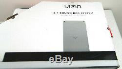 VIZIO 36 2.1 Channel Sound Bar System Wireless subwoofer Bluetooth 2018